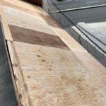 大阪市生野区にて屋根修理 ~既存屋根材撤去・下地、ルーフィング・屋根材貼り~