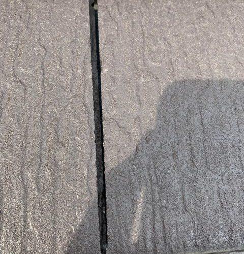 守口市にて雨樋修理